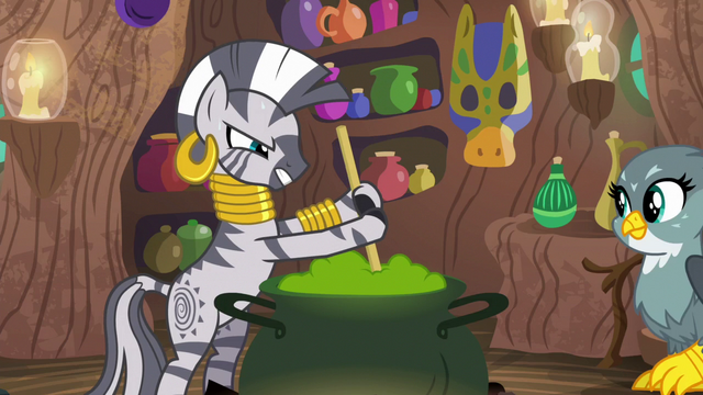 File:Zecora struggling with a thick potion S6E19.png
