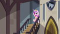 Cadance near the staircase S2E25.png
