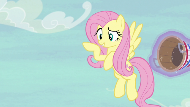 """File:Fluttershy """"you two really do need practice!"""" S6E18.png"""