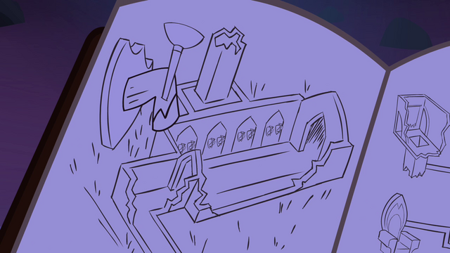 File:Journal castle drawing S4E03.png
