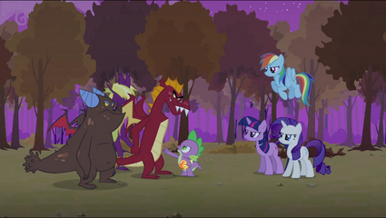Spike telling the dragons S2E21.png
