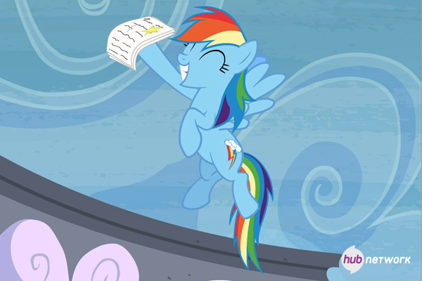 File:Rainbow Dash celebrates her exam result S4E21.png