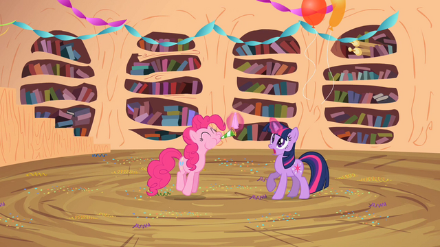 File:Twilight teleports Pinkie inside S2E10.png