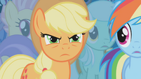 Applejack upset S01E06