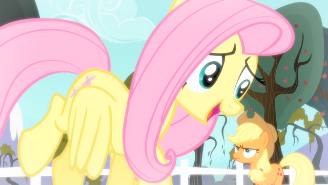 File:Fluttershy 'That's where I have to disagree' S4E07.png