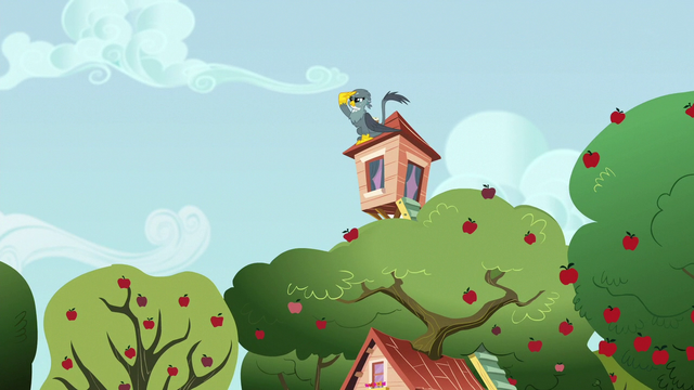 File:Gabby perched on the Crusaders' clubhouse S6E19.png