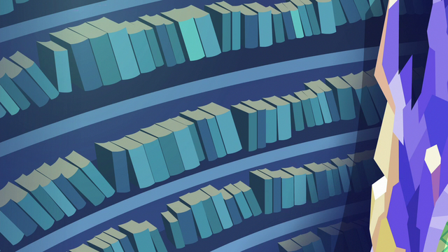 File:More library books are quickly shelved S6E21.png