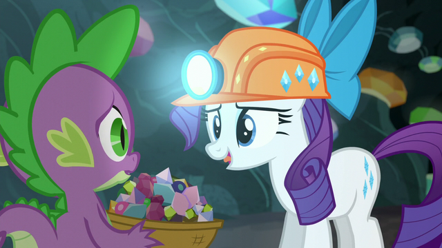 """File:Rarity """"Thanks for being my basket holder"""" S6E5.png"""