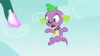 Spike falls as the vines vanish EG3