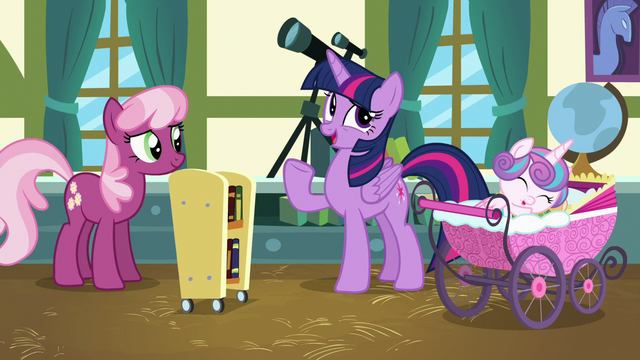"File:Twilight ""didn't think the foals would be interested"" S7E3.png"