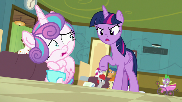 File:Twilight Sparkle scolding Flurry Heart S7E3.png