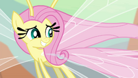 Fluttershy gives a supporting smile S4E16