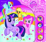 MLP Friends Forever Play-a-Sound activity book cover