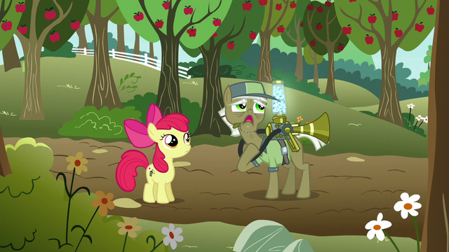 "File:Pest pony ""yearns for the day they can move on"" S5E04.png"