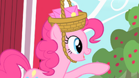 Pinkie Pie pointing S1E25