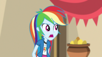 """Rainbow """"I don't know who's behind this"""" EGS2"""