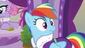 Rainbow Dash hears Rarity's voice S6E10.png