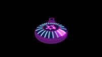 Twilight's amulet humming on black background EG3