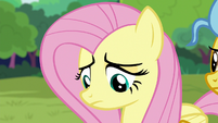 Fluttershy dejected over her destroyed dream S7E5