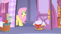 Fluttershy entering Rarity's house S1E17.png