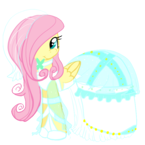 Fluttershy S Wedding Dress By Anaxboo-d5fonq.png