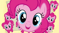 Pinkie Pie everywhere on the map S2E18