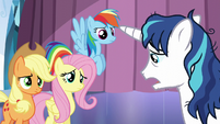 "Shining Armor ""more stressful than I ever thought"" S6E1"