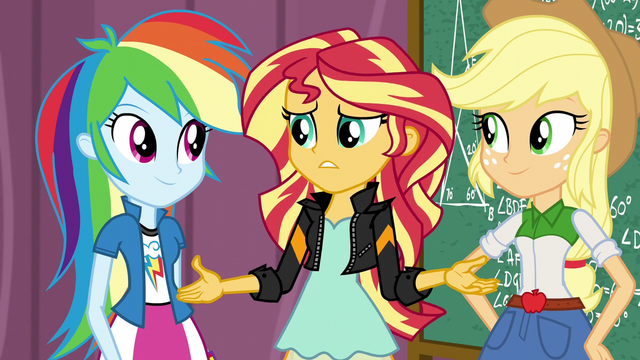 "File:Sunset Shimmer ""but we didn't win"" EG3.png"