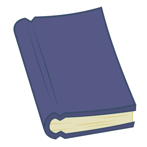 File:FANMADE vector dark blue book.png
