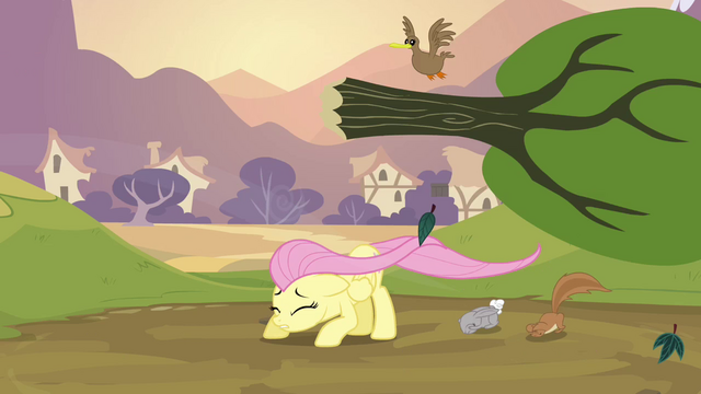 File:Fluttershy dodging a tree S2E22.png