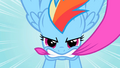 Rainbow Dash epic close up S2E10.png