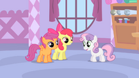 The CMC on a sleepover S1E12
