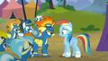 The Wonderbolts confront Rainbow Dash S6E7.png