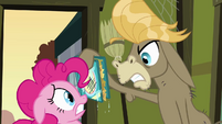 Cranky is furious about the ruined book S2E18