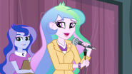 Principal Celestia mentions the Friendship Games EG3