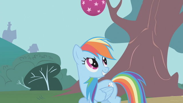 File:Rainbow Dash smiling about bouncing ball S1E7.png
