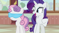 "Rarity ""okay, we're here!"" S7E6"