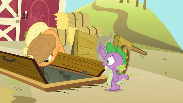 "File:Spike ""allow me to assist you further!"" S03E09.png"