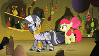 Zecora And Apple Bloom S2E6