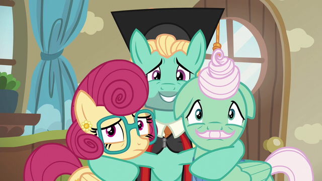 File:Zephyr, Mr. Shy, and Mrs. Shy look toward Fluttershy S6E11.png