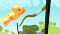 Applejack leaping over hurdle S2E14.png