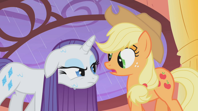 File:Rarity is not amused by Applejack's dare S01E08.png