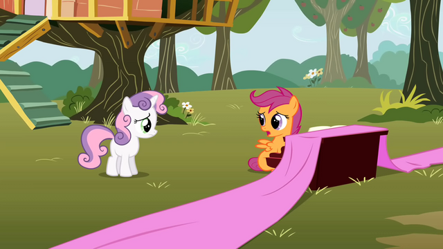 File:Scootaloo has trouble coming up with lyrics S01E18.png