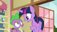 "Twilight Sparkle ""you watch Flurry"" S7E3"