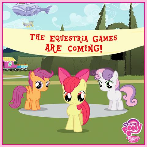 File:Cutie Mark Crusaders Equestria Games promo.png