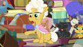 "Goldie ""nopony called your mother Pear Butter"" S7E13.png"