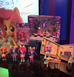 Hasbro Toy Fair 2016 - Equestria Girls Minis display