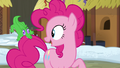 """Pinkie Pie """"that was a close one, Gummy!"""" S7E11.png"""