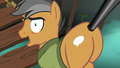 Quibble Pants in nervous denial S6E13.png