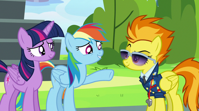 """File:Rainbow Dash """"let's not get carried away"""" S6E24.png"""